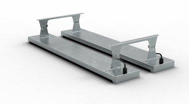 Soporte de techo 400x1,5x103,5mm para MO9818