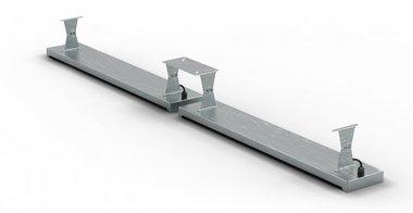 Soporte de techo 396x1.5x120mm para MO9818