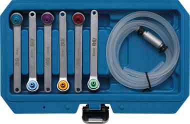 Juego de llaves de purgado de frenos 7 - 8 - 9 - 10 - 11 - 12 mm 7 piezas