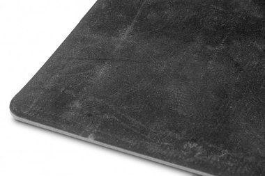 Goma plana en rollo 10 m negro