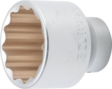 Llave de vaso 12 caras entrada 20 mm (3/4) 55 mm