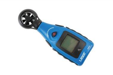 Anemometro y medidor de temperatura
