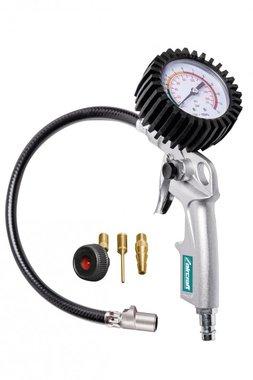 Soplador de neumáticos con sistema de bloqueo rápido patentado