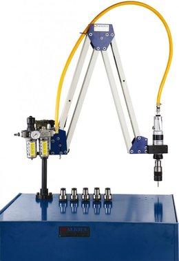 Brazo de roscado neumatico M10 - M20 rango de trabajo 500 - 1600mm
