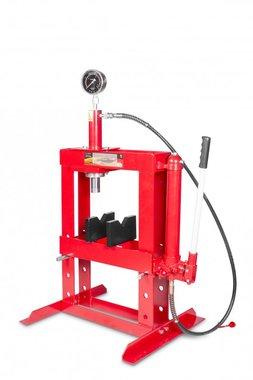 Prensa de mesa hidráulica manual 10 toneladas