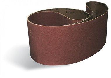 Bandas lijadoras metal/madera 100x1220mm - x10 piezas