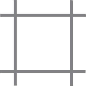 Malla para aviarios Quadra sat. 13x0.8 50 cm x 10 m