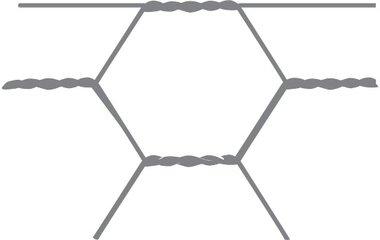 Malla hexagonal Avigal 40x0,9 120 cm x 50 m
