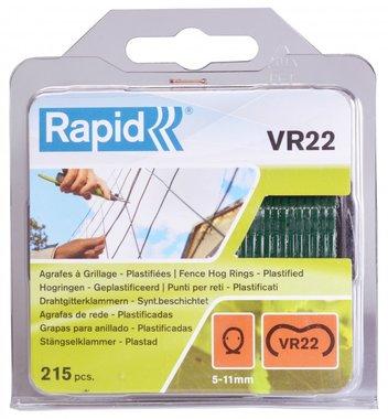 Grapado rapido VR22 con recubrimiento verde 215 piezas