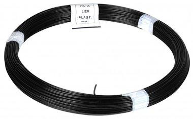 Cordel PVC negro 1,4/2,0 mm 50 m