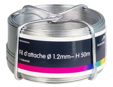 Tirante zincado 1,2 mm 100 mtr-ring