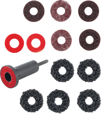 Juego de amoladora de cubo de rueda para pernos y pernos de tuerca de rueda 14 piezas