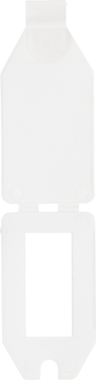 Etiqueta de precio, plastico 40 x 27 mm
