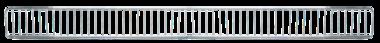 Parte frontal del difusor 1250 x 95 mm