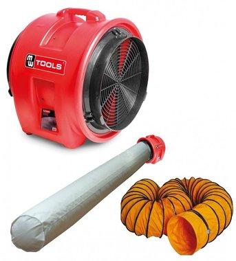 Ventilador MV400PP con accesorios