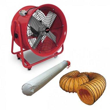 Ventilador 400 mm con accesorios