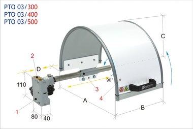 Protector de mandril 500x240mm