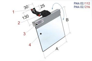 Lijadoras universales de banda y de cubierta protectora 200x185mm