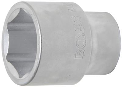 Llave de vaso hexagonal entrada 25,4 mm (1) 46 mm