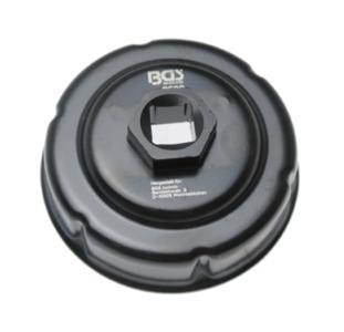 Llave de filtros de aceite hexagonal Ø 76 mm para motos BMW