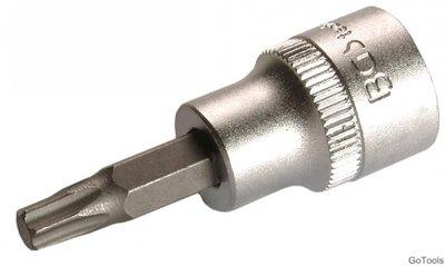 Punta de vaso de impacto entrada 12,5 mm 1//2 para Torx BGS 5480-T30 T30 | perfil en T