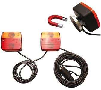 Lámparas para remolques, con soporte mágnetico