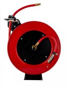 Carrete de manguera de aire comprimido 15 m - 10 mm