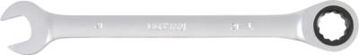 Llave combinada con carraca 21 mm