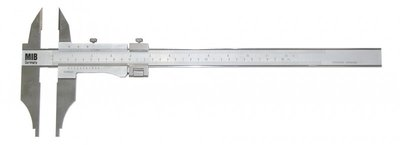 Calibrador de calibre tapa superior acero inoxidable métrico / pulgada