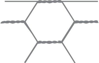 Malla hexagonal Avigal 13x0,7 150 cm x 25 m